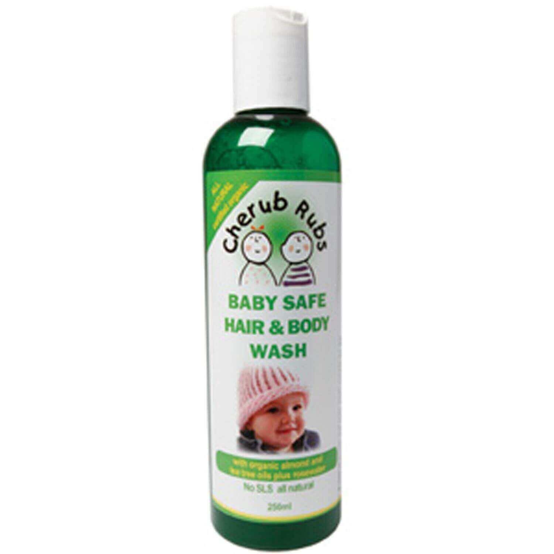 Cherub Rubs Baby Safe Hair Body Wash